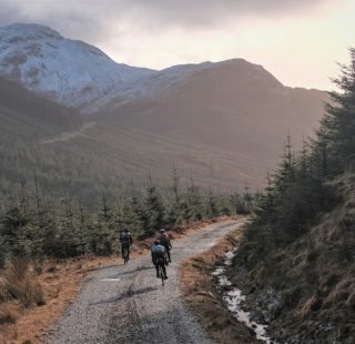 Bikepacking to Mark Cottage