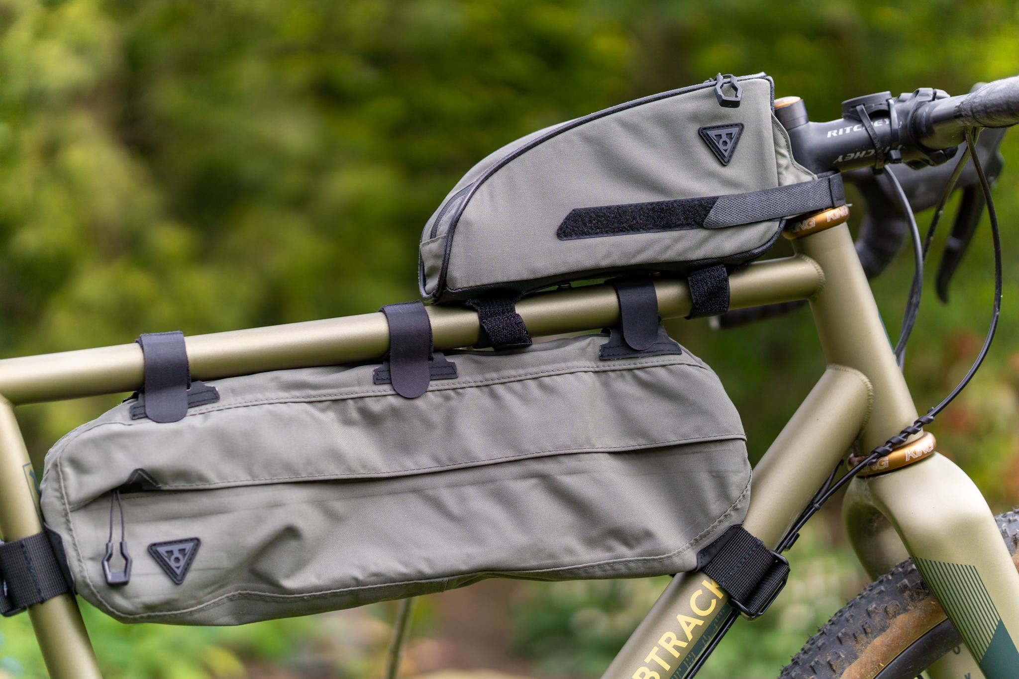 6L Topeak MidLoader Frame Bag Green