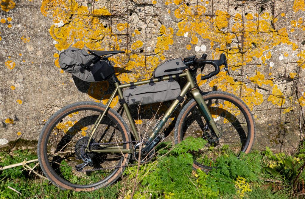 Bombtrack Hook EXT and Topeak Bikepacking gear
