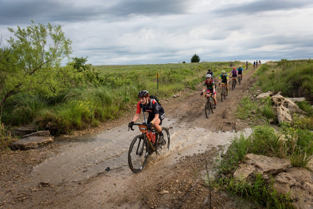 Katherine Moore on the Dirty Kanza