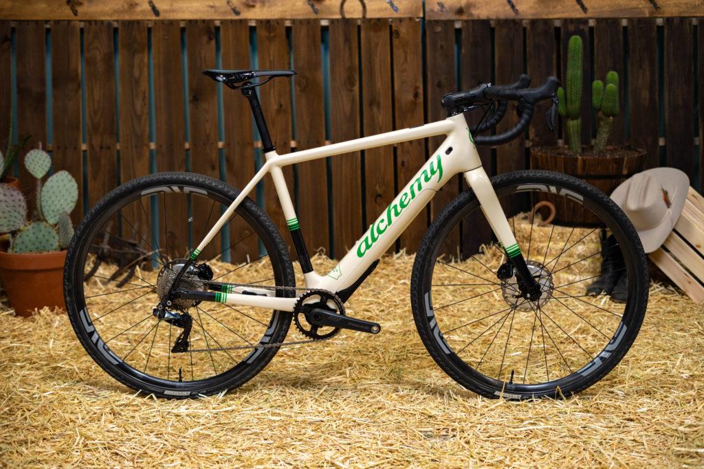 Alchemy e-gravel bike