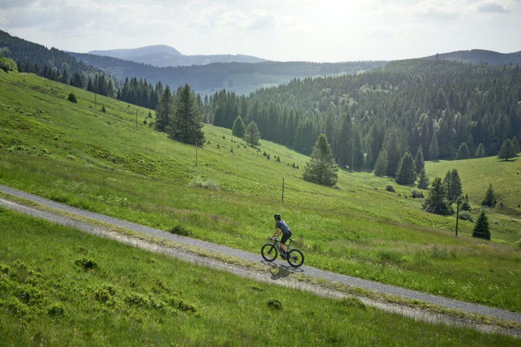 Cycling in the hills