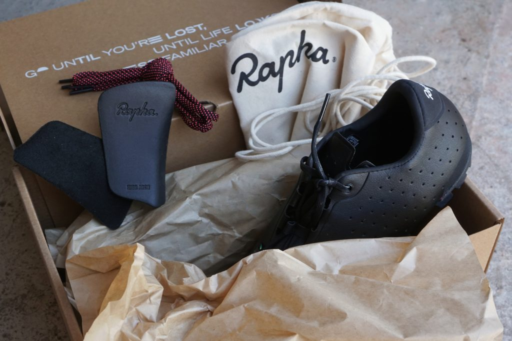 Box fresh Rapha Explore Shoes