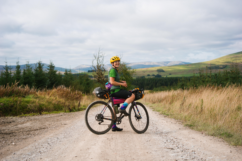 Mercredi 'cross bike with Katherine