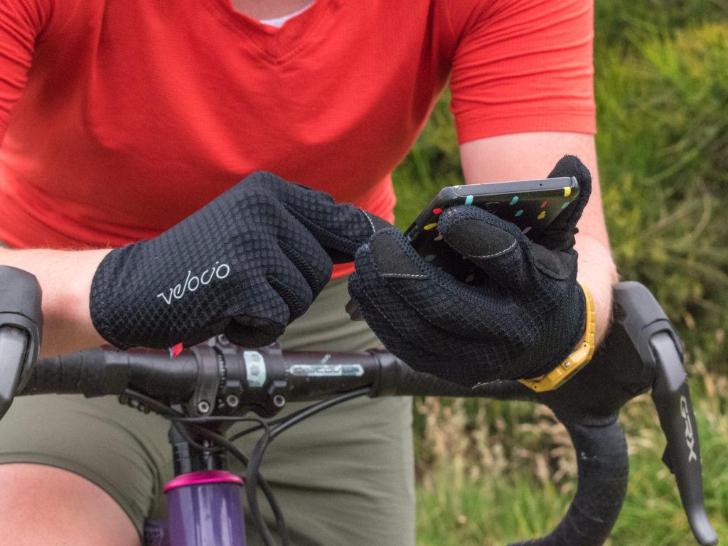 Trail Glove in use