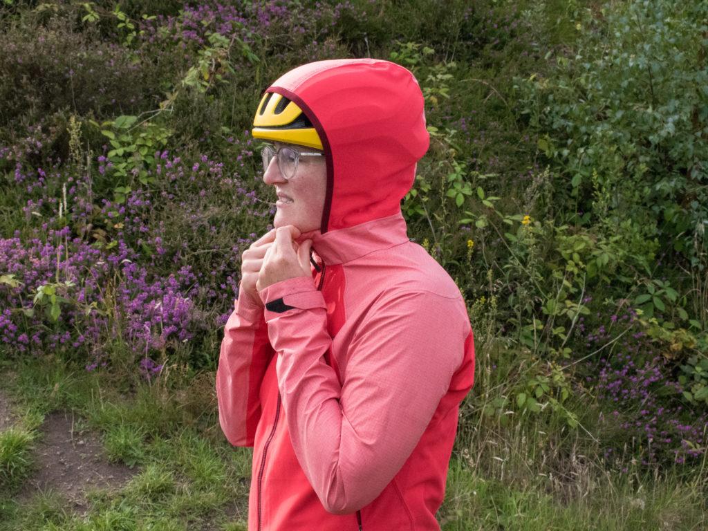 Gore Infinium Hybrid Jacket stretchy hood