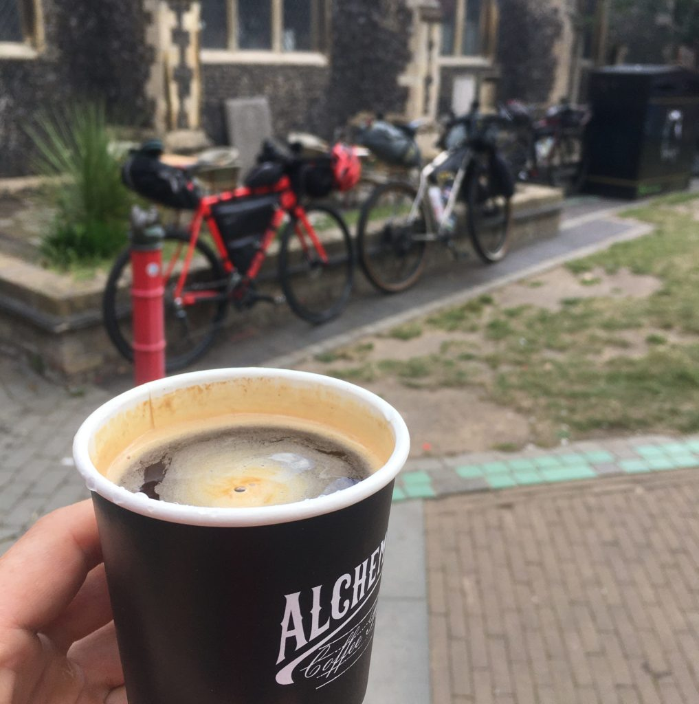 All good rides start with coffee