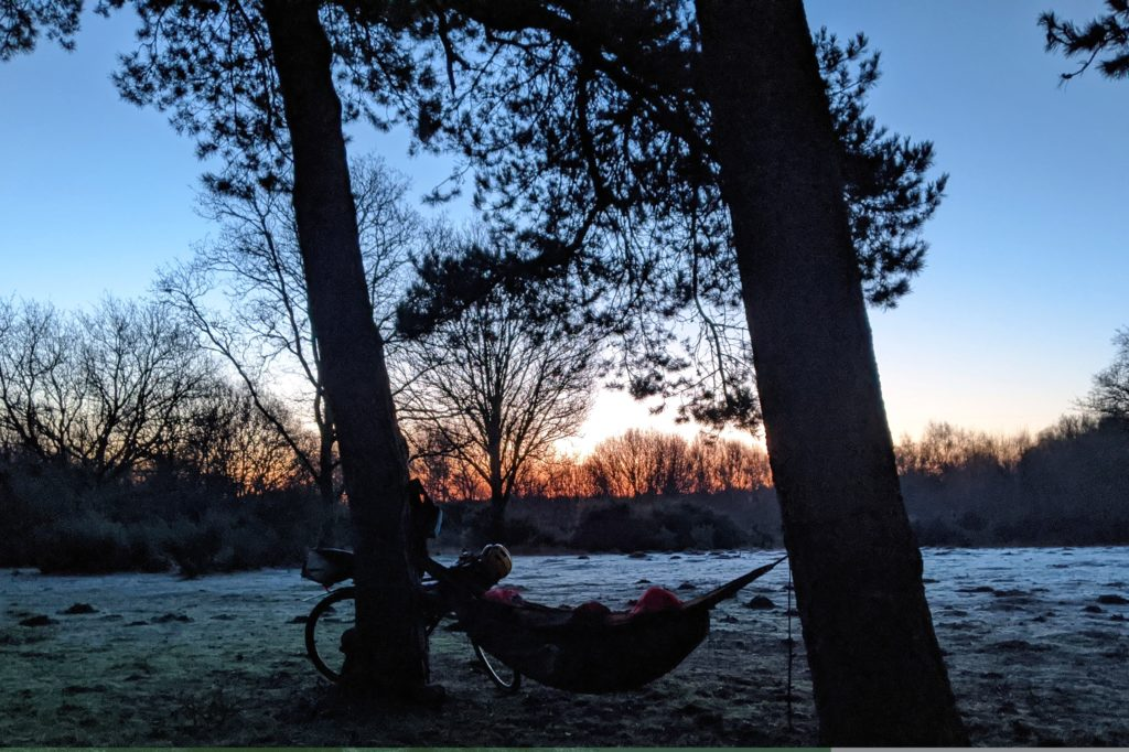 A cold and frosty start