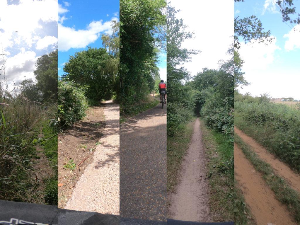 Rail Trail Montage