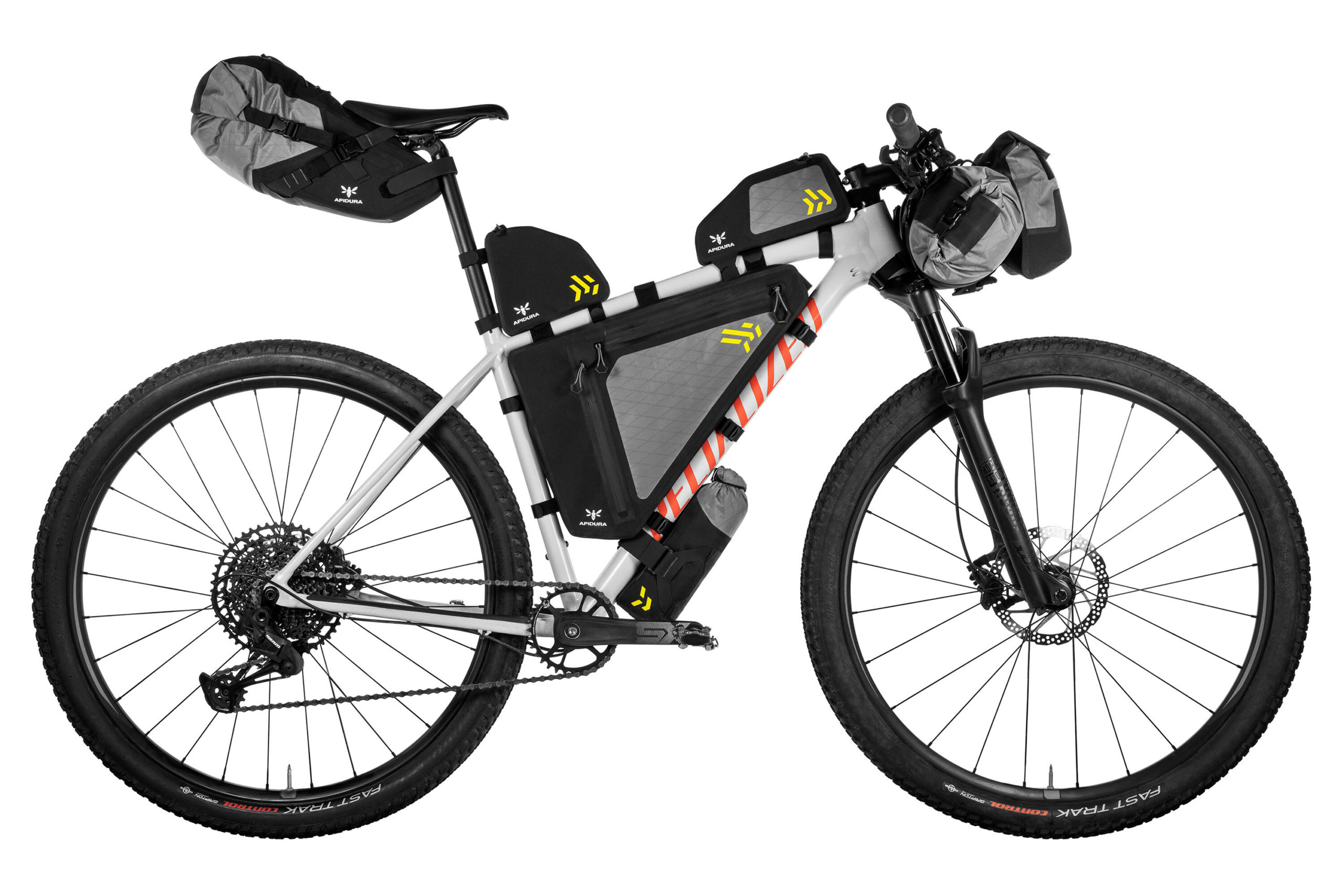Apidura Backcountry bikepacking bags