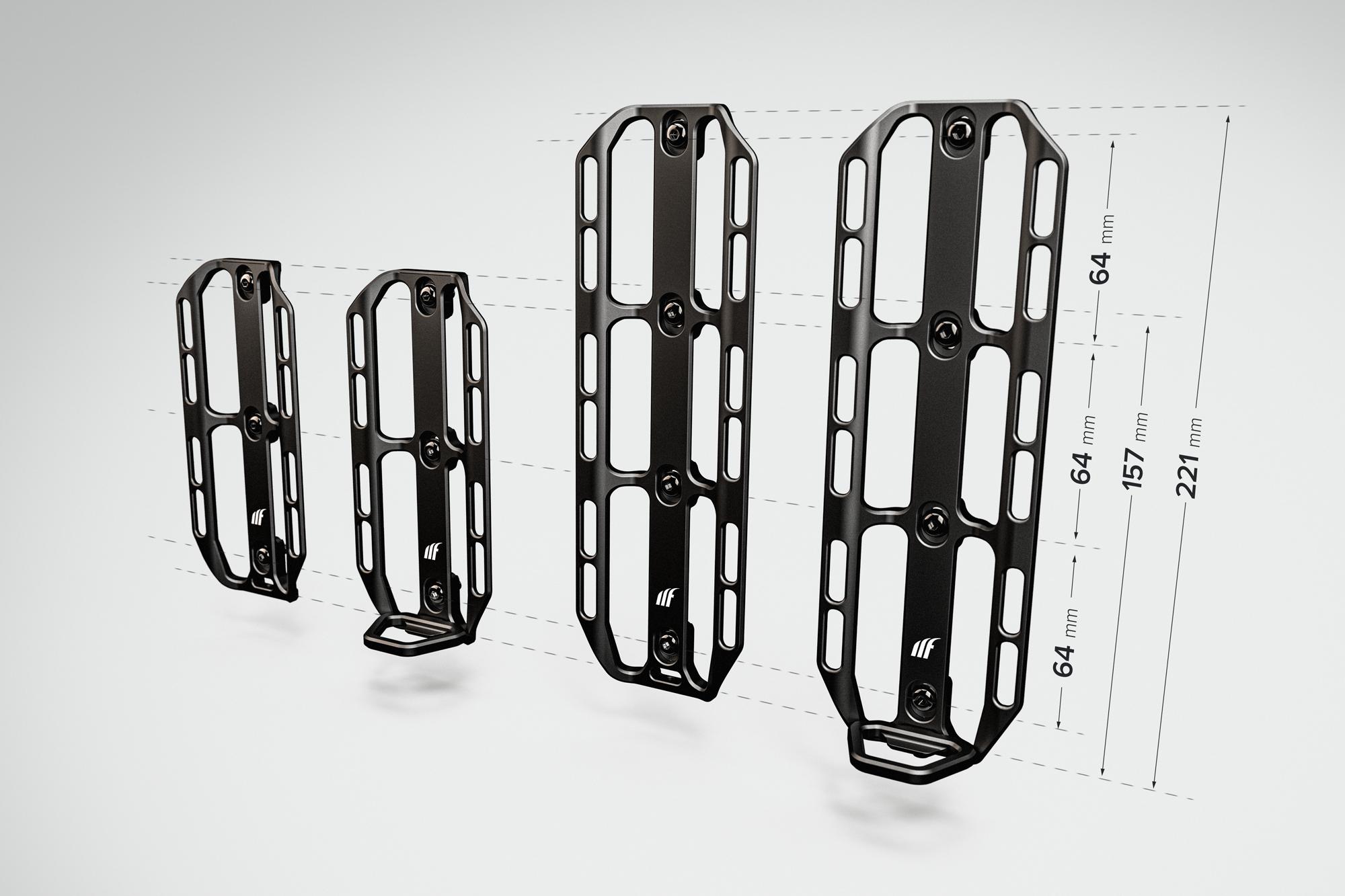 Tailfin cargo cage