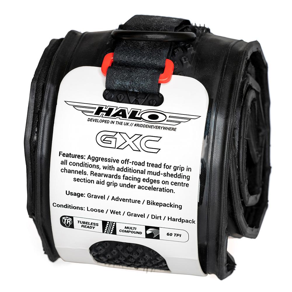 Halo gravel tyres