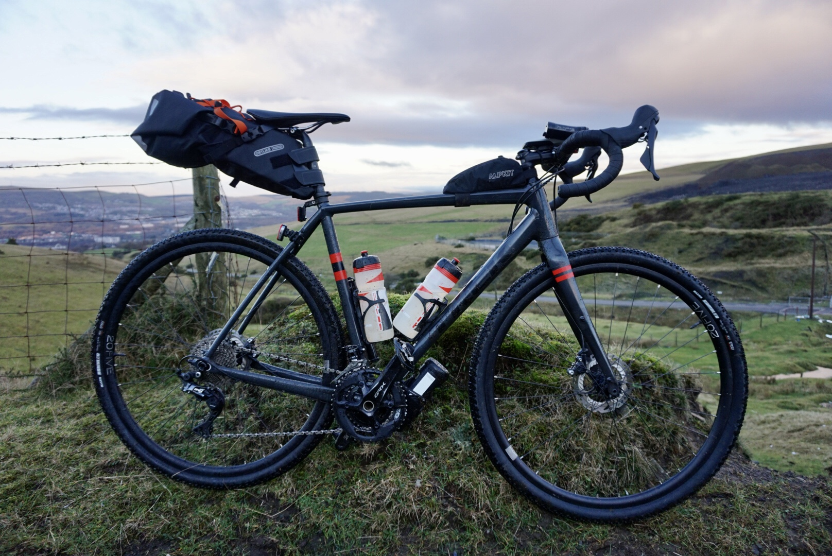 Nic Festive 500 off road South Wales