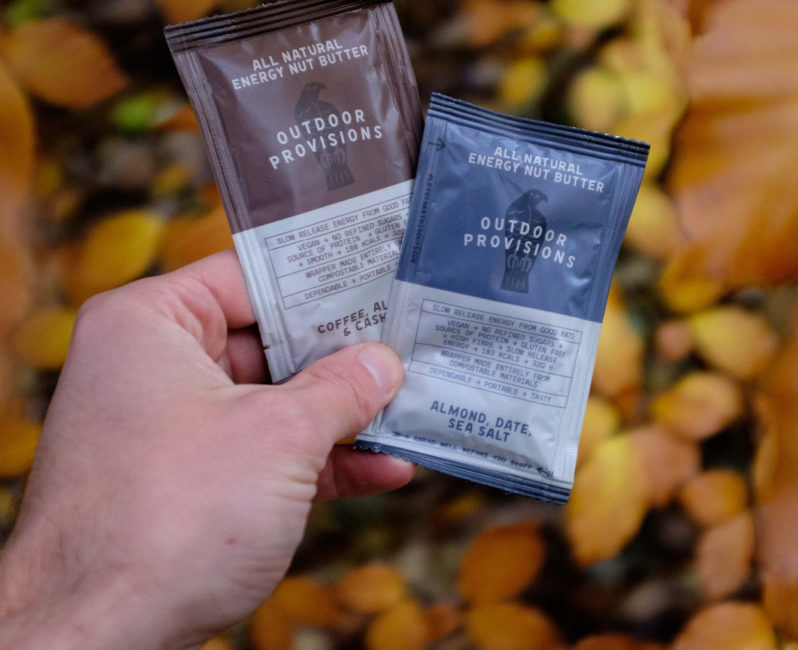 Outdoor Provisions nut butter