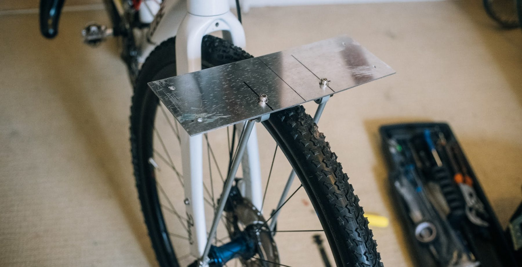 DIY front bag support