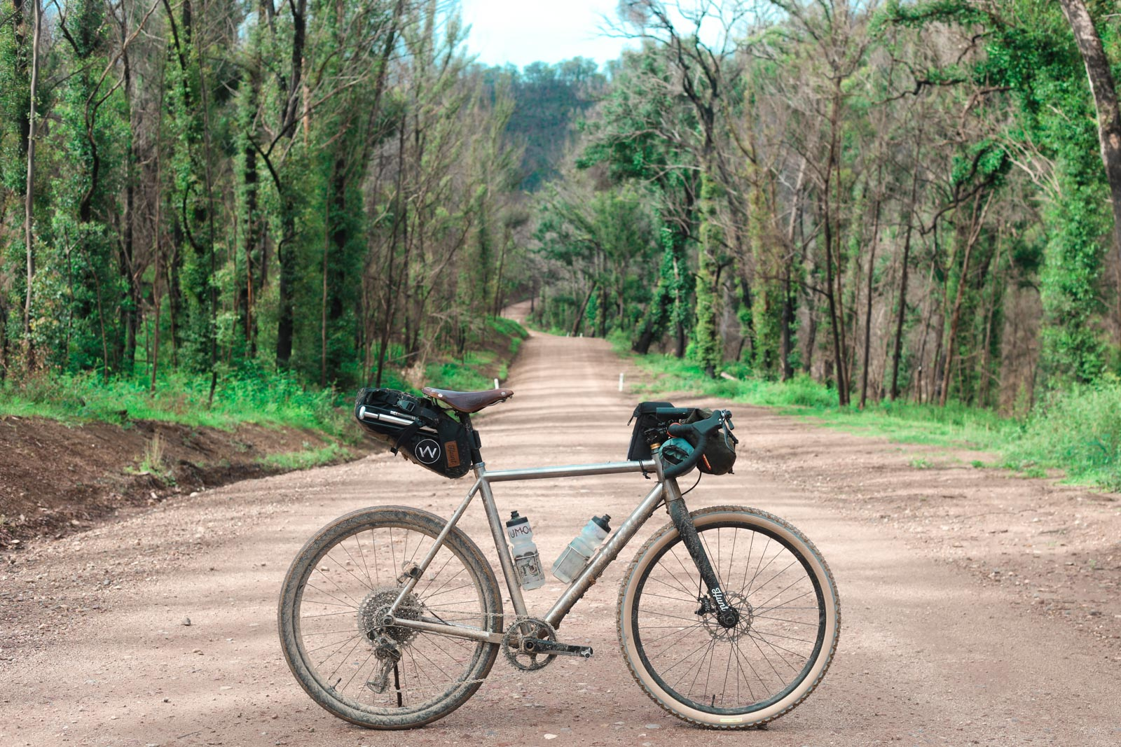 Gravel route Canberra to the Coast