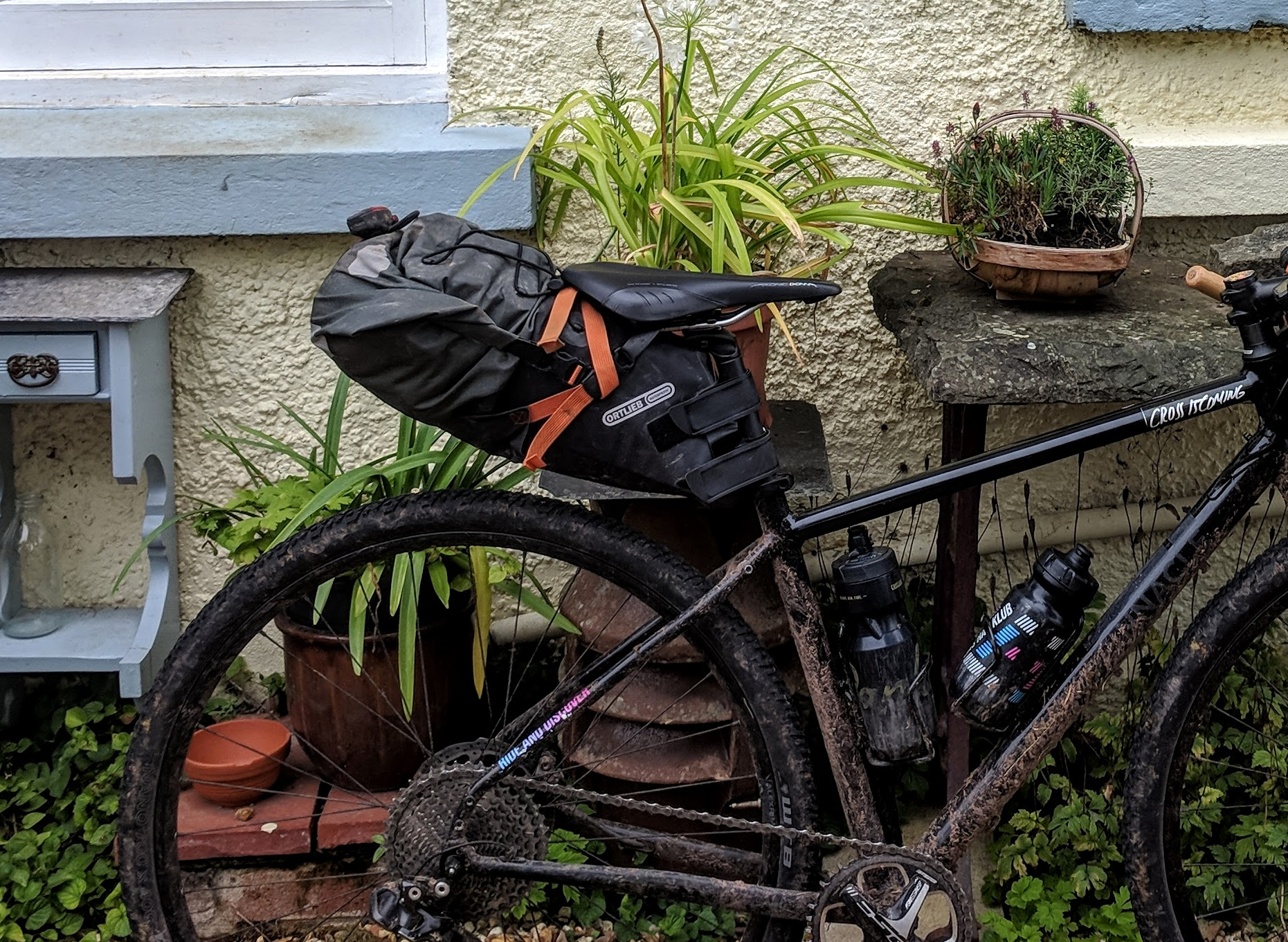 Ortlieb seat post pack review