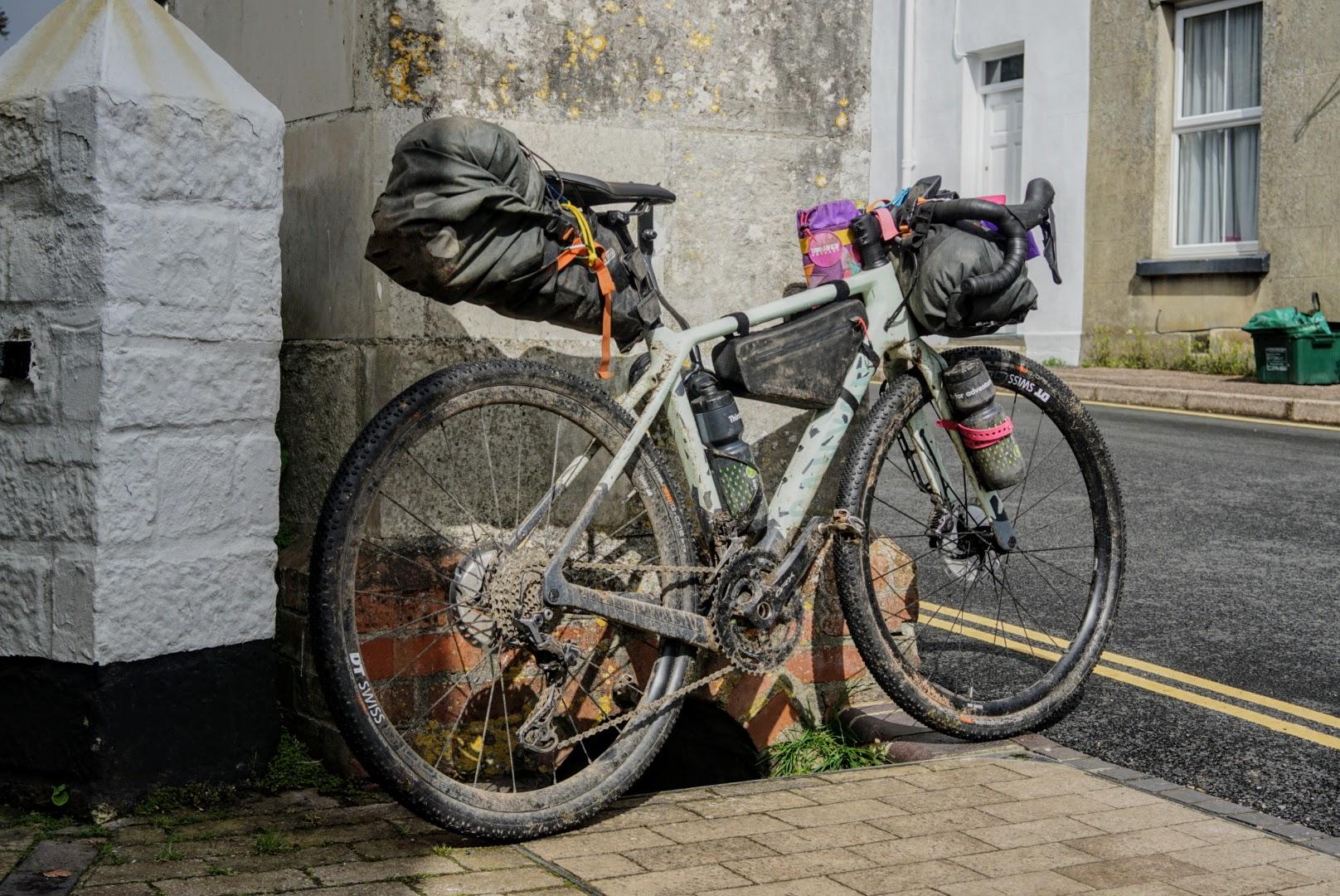 Canyon Grizl bikepacking bags