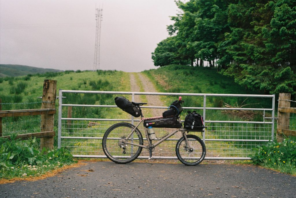 A Rothair Cycles built cargo bike ridden by Farr Out Deliveries