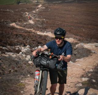 The Vulpine Mens gravel short, at home on and off the bike