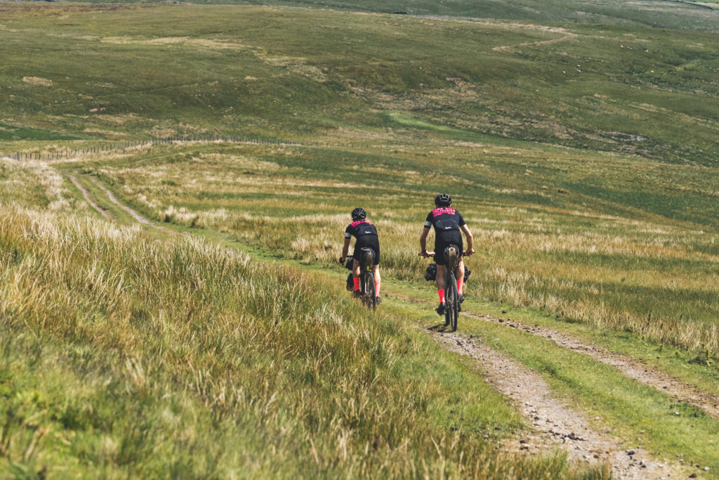 Farr Out Deliveries somewhere out on the Pennine Rally
